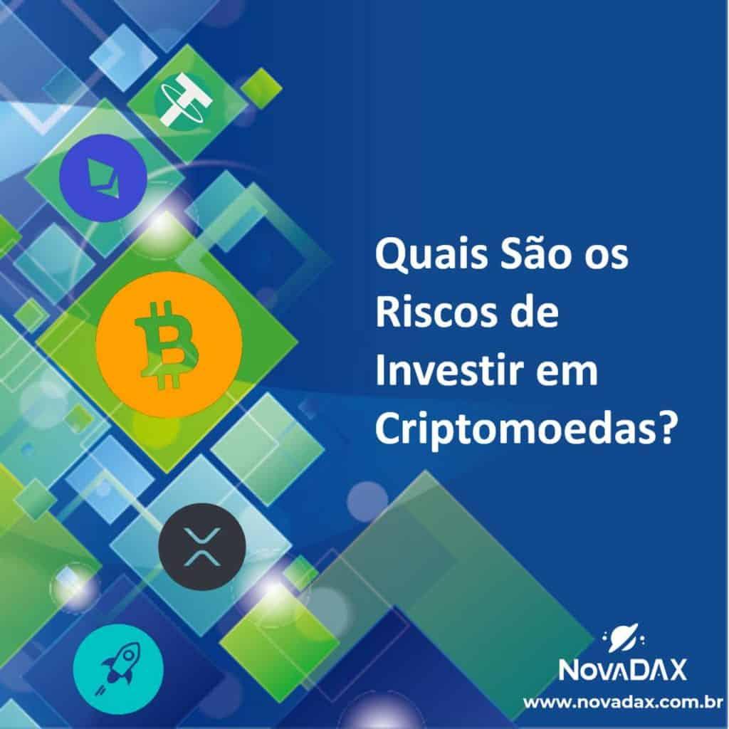 riscos de investir em criptomoedas